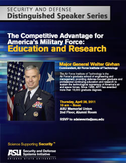 The Competitive Advantage for America's Military Force: Education and Research