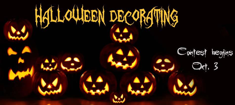 Halloween Decorating Contest
