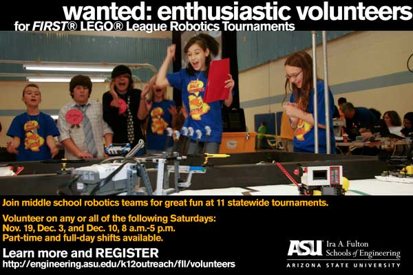 Wanted: Enthusiastic Volunteers