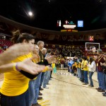 Engineering Night at ASU Men's Basketball on Jan. 12, 2012, photographer Jessica Slater