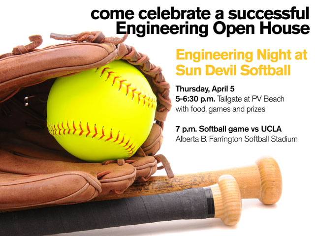 Engineering Night at Sun Devil Softball