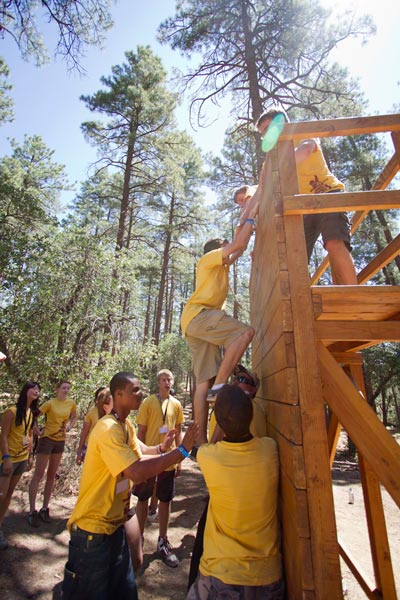 Engineering is a team sport at E2 Camp