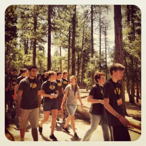 Students at E2 Camp