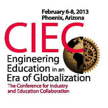 Conference for Industry and Education Collaboration, February 6-8 2013, Phoenix, Arizona