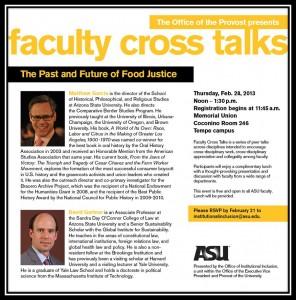 cross talks flier