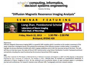 Diffusion Magnetic Resonance Imaging Analysis seminar, March 22