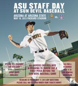 ASU Staff Day, May 19