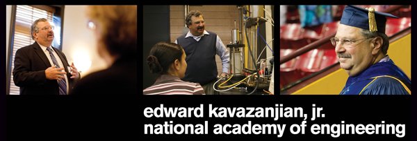 Edward Kavazanjian, Jr. National Academy of Engineering 2013
