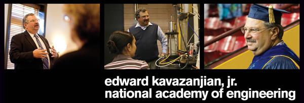 Edward Kavazanjian, Jr. National Academy of Engineering 2013
