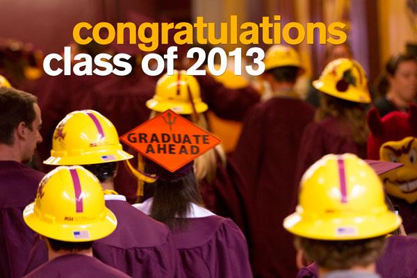 Congratulations, Class of 2013