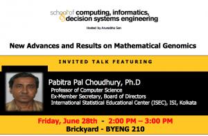 Pabitra Pal Choudhury, June 28, BYENG 210