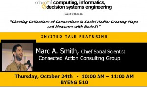 Marc A. Smith, October 24, BYENG 510