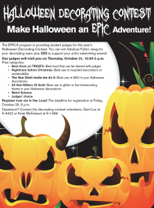Halloween Decorating Contest 2013