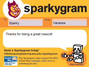 Send a Sparkygram today