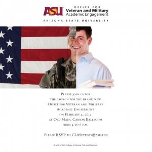 Veteran and Military Academic Engagement