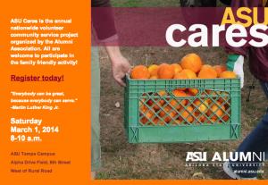 ASU Cares Flier