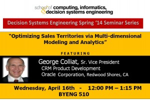 George Colliat, April 16, noon, BYENG 510