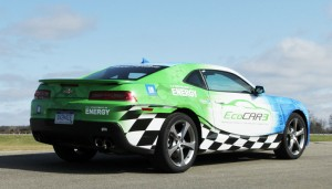Students in the EcoCAR 3 competition will be working on the Chevrolet Camaro.
