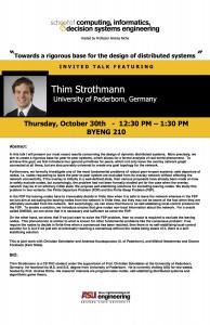 Thim Strothmann, Oct. 30