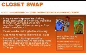 Centerpoint Closet Swap, Nov. 13