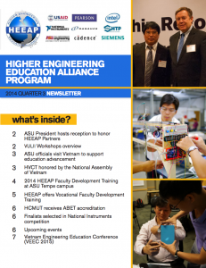 Read the HEEAP 2014 Q3 newsletter