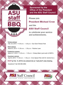 ASU Staff Appreciation BBQ