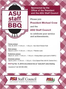 ASU Staff Appreciation BBQ