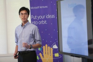 Ninh at Microsoft Idea Camp