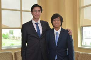 Ninh with business partner Tyler Dao