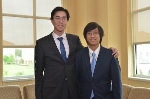Ninh with business partner Tyler Dao