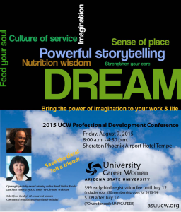 UCW 2015 Professional Development Conference, August 7