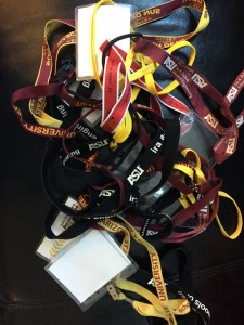 Reuse your lanyards
