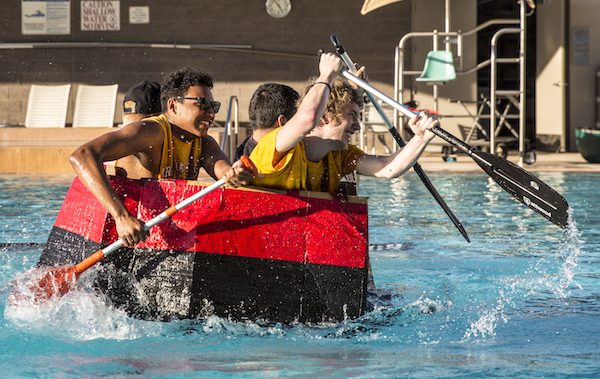 Polytechnic campus boat races