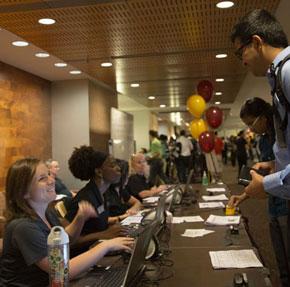 Volunteer at the Career Fair!