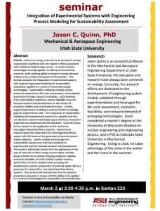 Quinn Seminar Flier