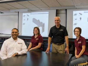 Faculty show Autodesk tool taught in FSE 100 class.