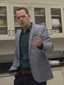 Associate Professor Cody Friesen - Photographer: Pete Zrioka/ASU