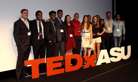TEDxASU speakers take the stage in April 2016