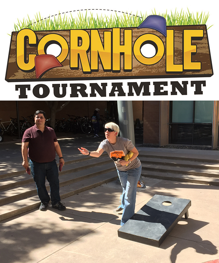 cornhole, united way