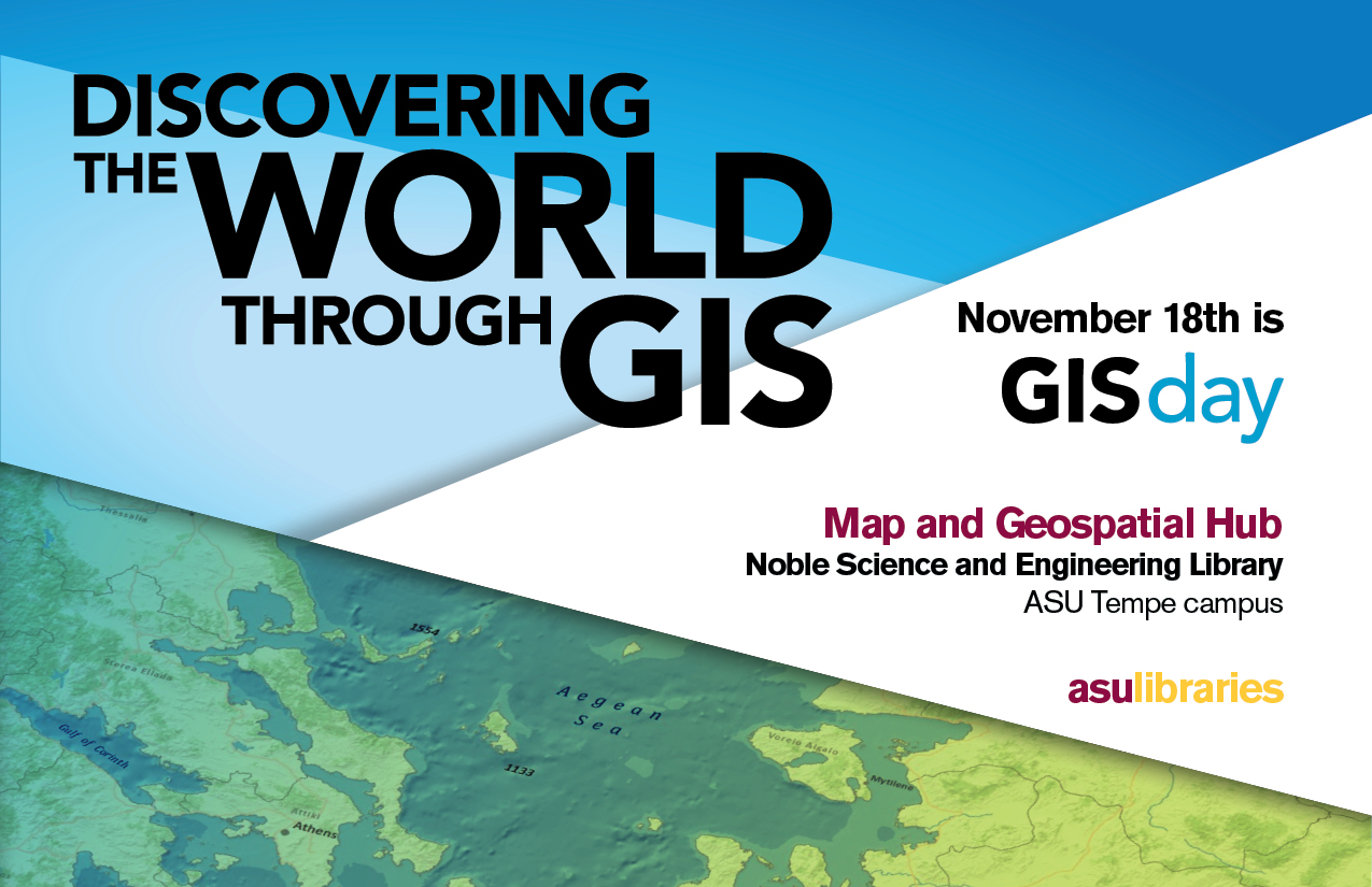 Register For Uic Gis Day 2019: In The Library Loop: Geographic Information System (GIS) Day