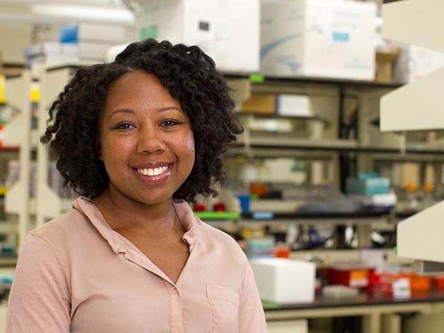 Assistant professor Karmella Haynes.