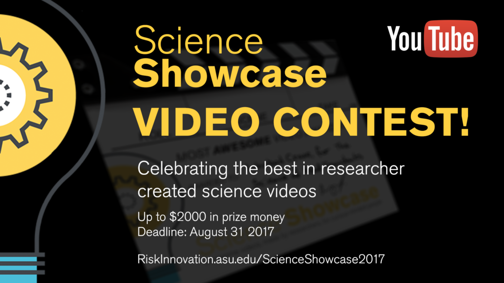 Information about the Science Showcase video contest