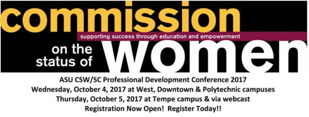 ASU CSW/SC Professional Development Conference 2017