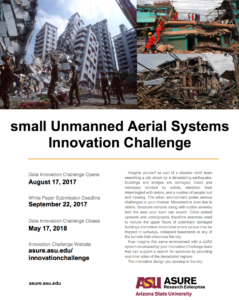 ASURE Innovation Challenge flier