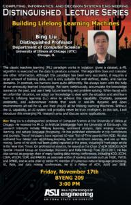 Bing Liu seminar flier