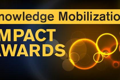 Knowledge Mobilization Impact Awards Baner