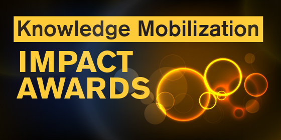 Knowledge Mobilization Impact Awards Baner