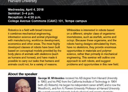 Whitesides seminar flier