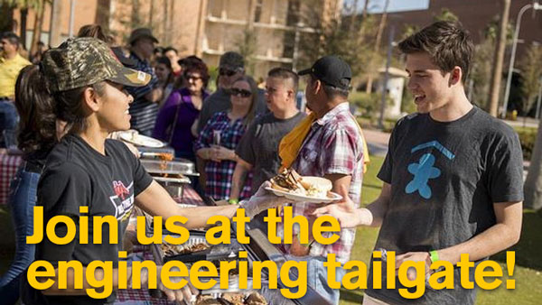 Join us at the engineering tailgate!