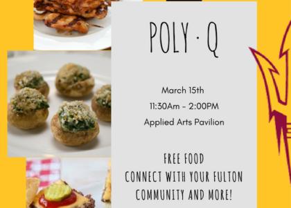 PolyQ Event Flier